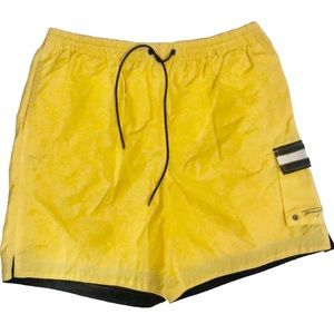 Tommy Hilfiger Swim Yellow Nylon Trunks